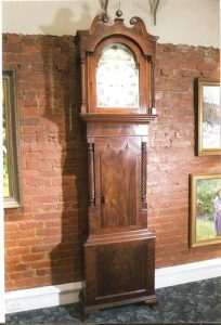 English Tall Case Clock 1860