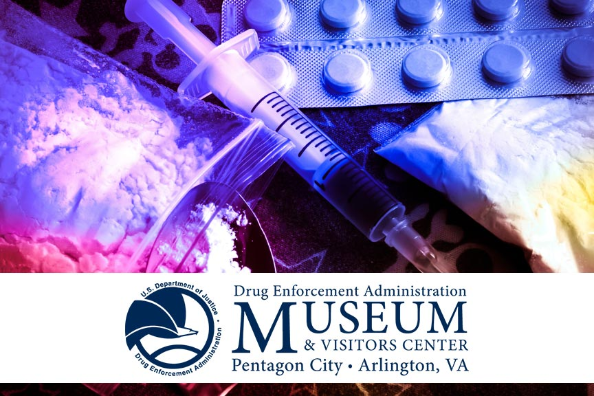visit the DEA Museum and Visitors Center in Arlington VA