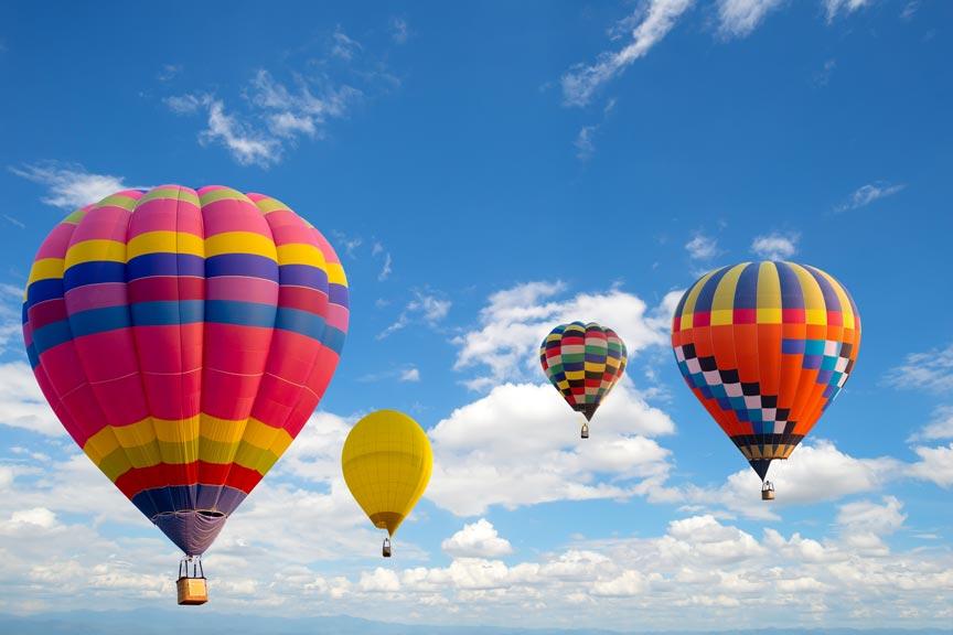 Flying Circus Hot Air Balloon Festival in Bealeton VA