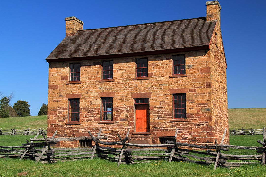The Stone House at Manassas Battlefield Park