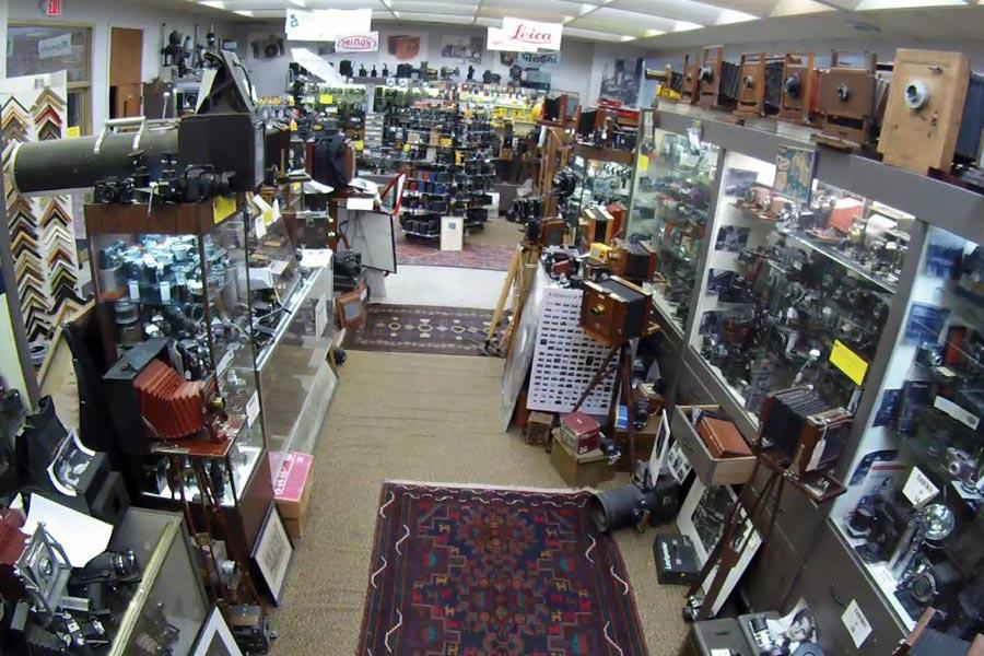 Inside the Camera Heritage Museum in Staunton VA